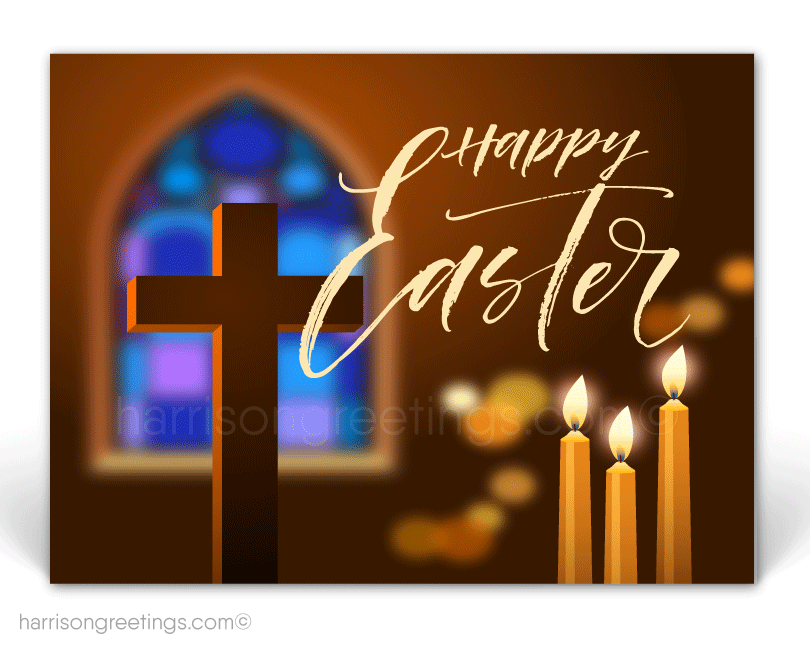 Modern Christian Easter Postcards