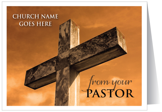 Pastor Thank You Note Card