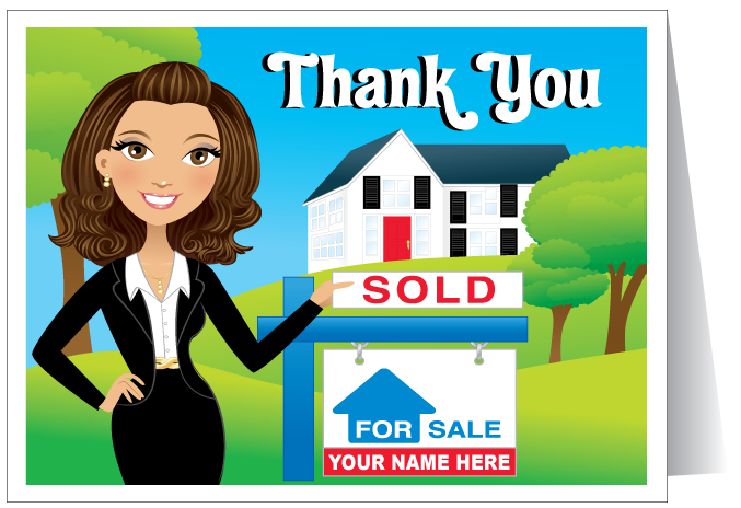 Realtor Thank You Real Estate Greeting Card