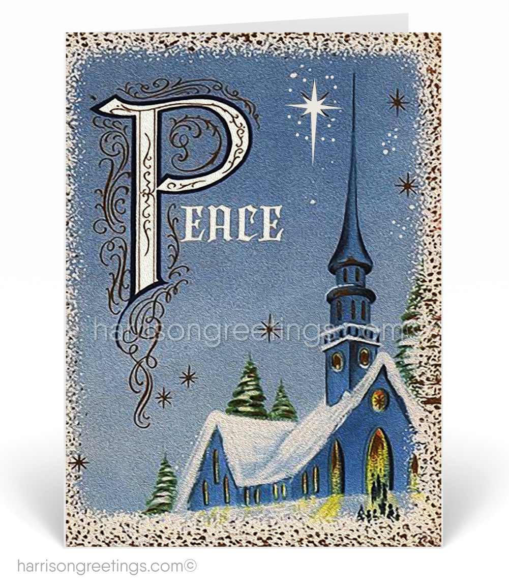 Vintage Victorian Merry Christmas Cards [SW133] : Ministry Greetings ...