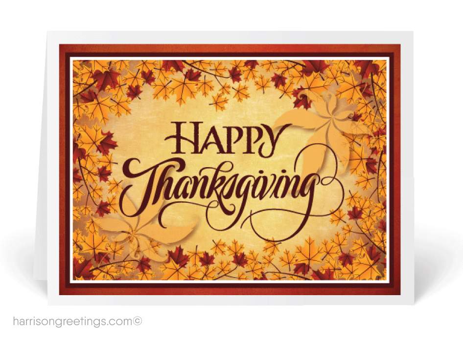 Whimsical fall thanksgiving card tg106 ministry greetings whimsical fall thanksgiving card m4hsunfo