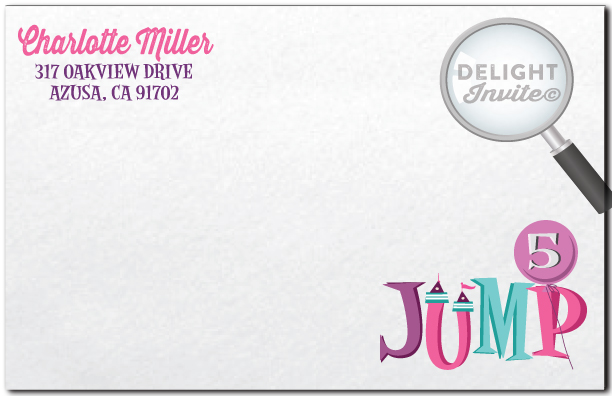 Jump party invitation envelope di 255env ministry greetings jump party invitation envelope stopboris Images