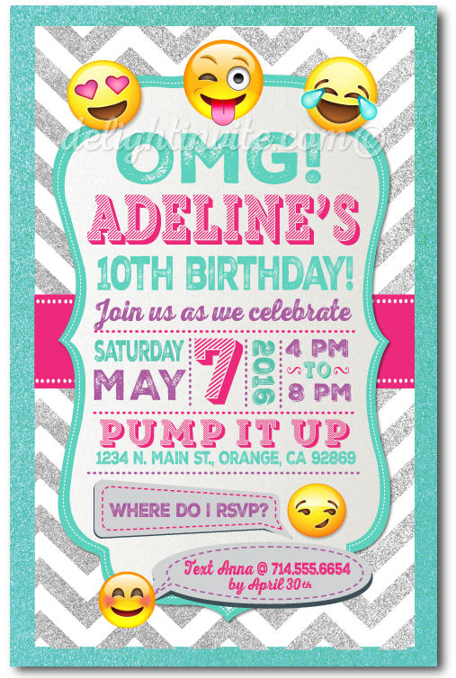 Emoji Birthday Invitations DI 625 Ministry Greetings Christian Cards Church Postcards Visitor Pastor Note