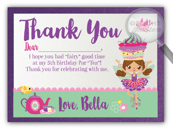 Fairy tea party thank you cards di 207ty ministry greetings fairy tea party thank you cards di 207ty ministry greetings christian cards church postcards visitor cards pastor note cards ministry birthday m4hsunfo