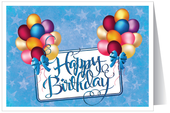 Corporate Happy Birthday Card 3892 Ministry Greetings – Corporate Birthday Greetings
