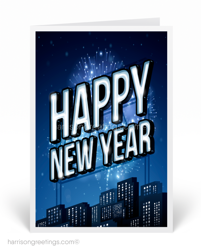Happy new year ministry greetings christian cards church happy new year greeting cards m4hsunfo
