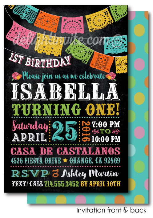 Printable digital fiesta paper flags birthday invitations di 623dp printable digital fiesta paper flags birthday invitations filmwisefo