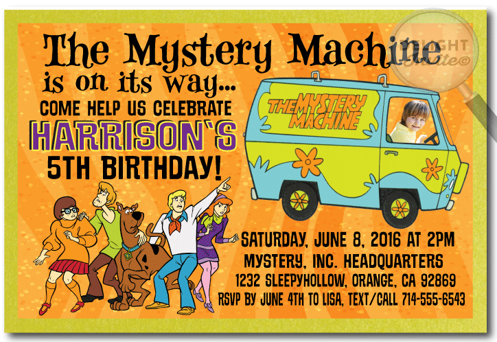 Scooby Doo Birthday Invitations DI329 Ministry Greetings