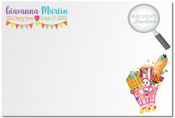 Shopkins Birthday Party Invitations DI694 Ministry Greetings