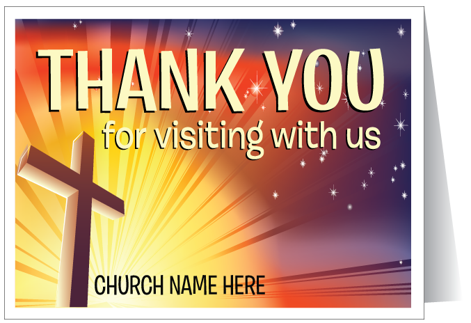 Thank You For Visiting Card