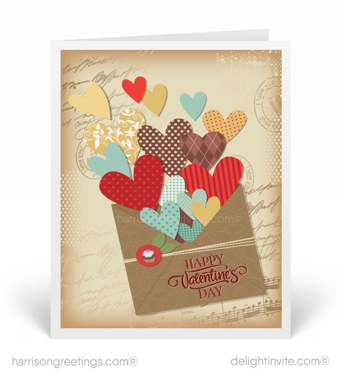 In Love With Your Business Valentines Card Funny Valentines Day