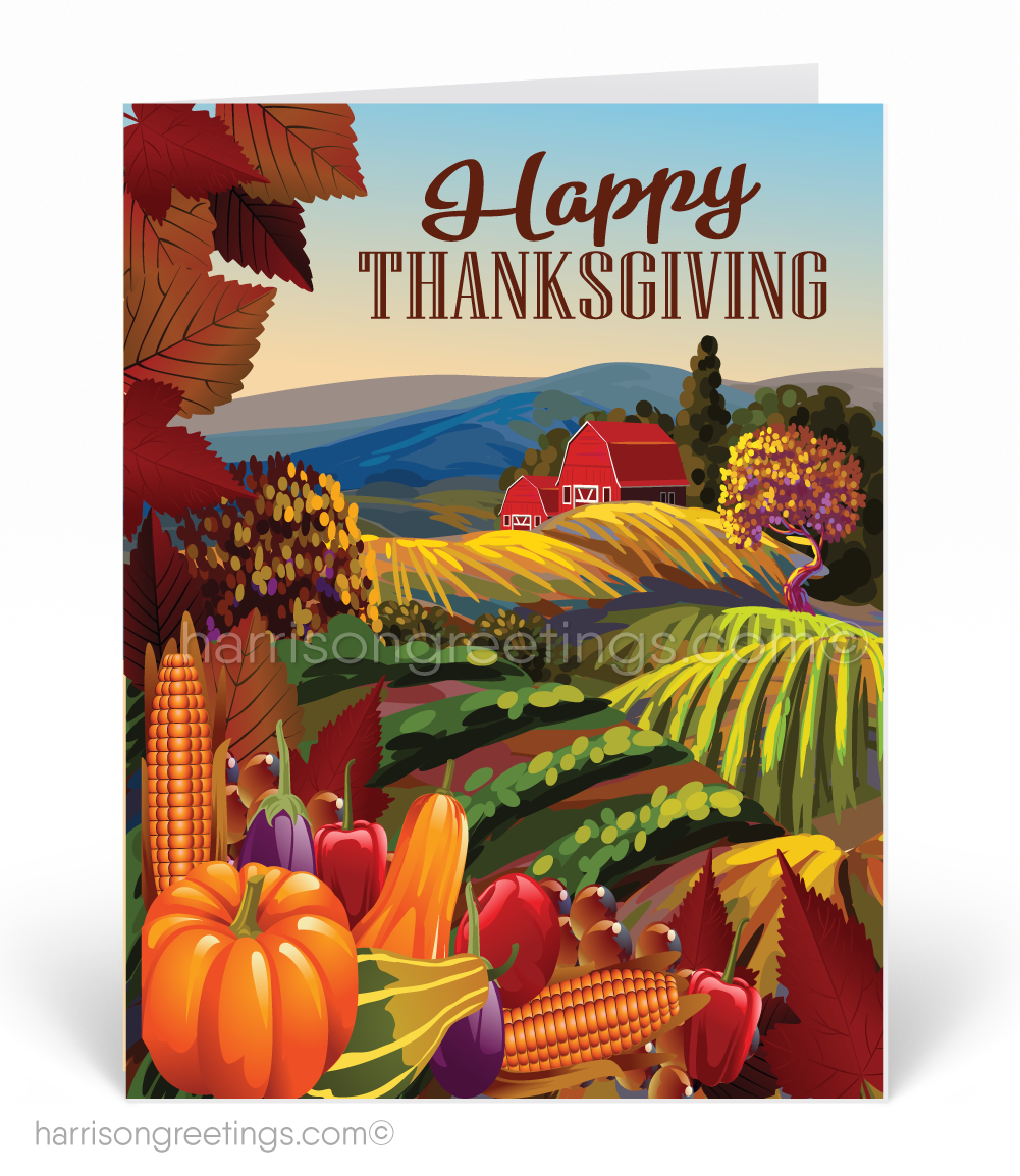 Vintage Thanksgiving Greeting Cards