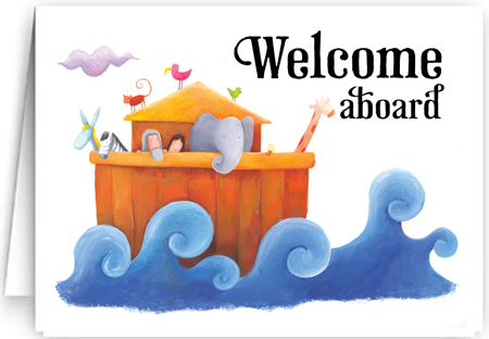 Welcome aboard cards ministry greetings christian cards church welcome aboard to our church m4hsunfo