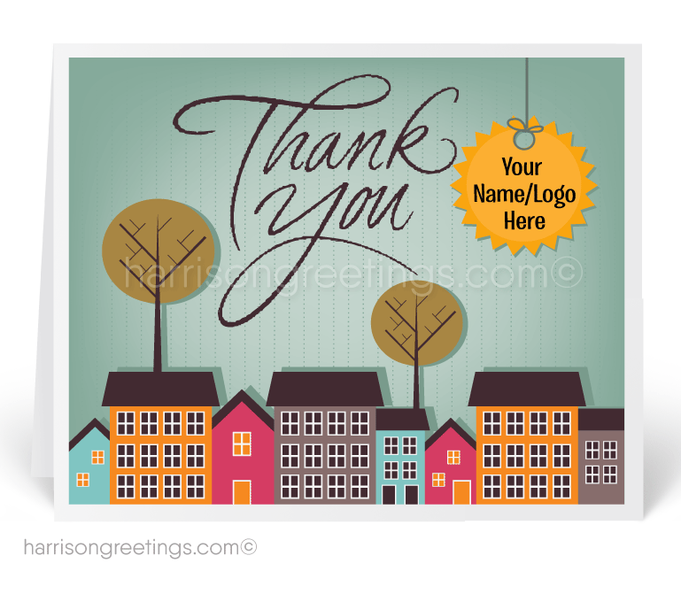 Finest Thank You Real Estate Agent Card [15204] : Ministry Greetings  MJ98