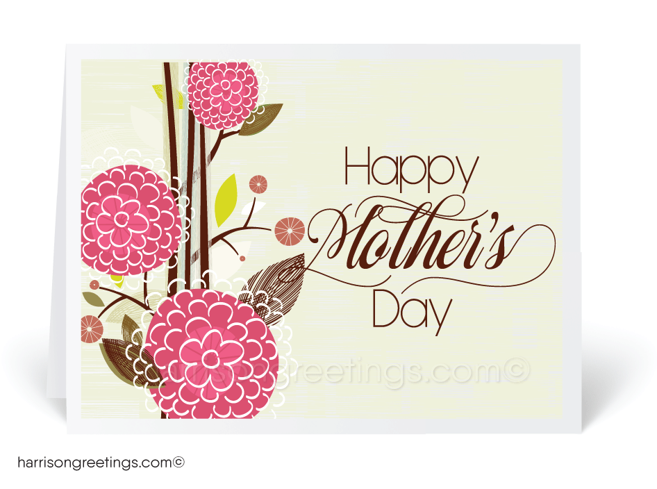 Vintage Floral Mother's Day Cards