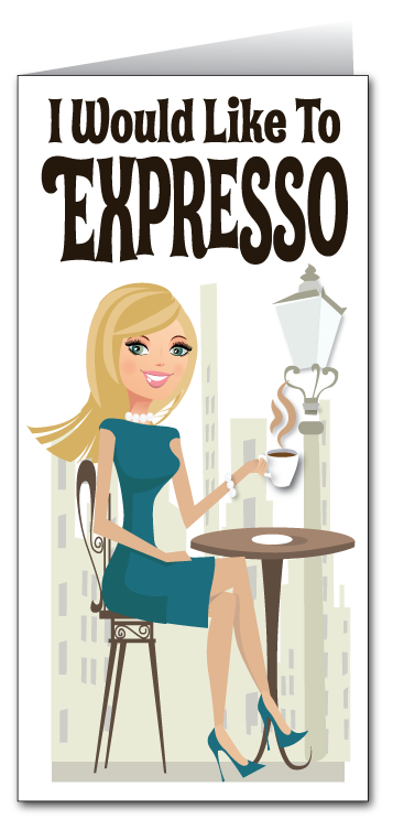Expresso My Sincere Thanks!